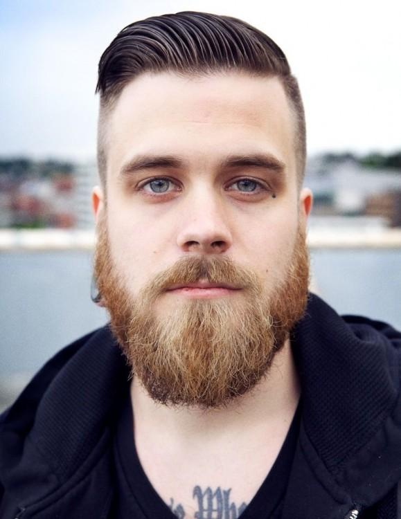 la barba crece casi 14 cms por año