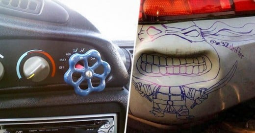 Las 35 reparaciones de auto más graciosas de todos los tiempos