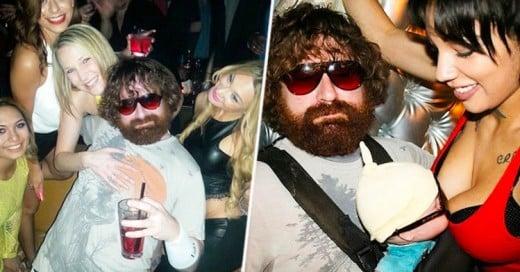 """Este hombre gana $250,000 Dolares al año haciéndose pasar por Alan de la película """"Hangover"""""""