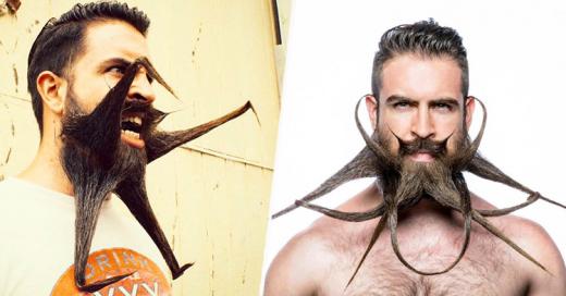 Este hombre tiene la barba más popular de todo Internet ¡Arreglándola de formas épicas!