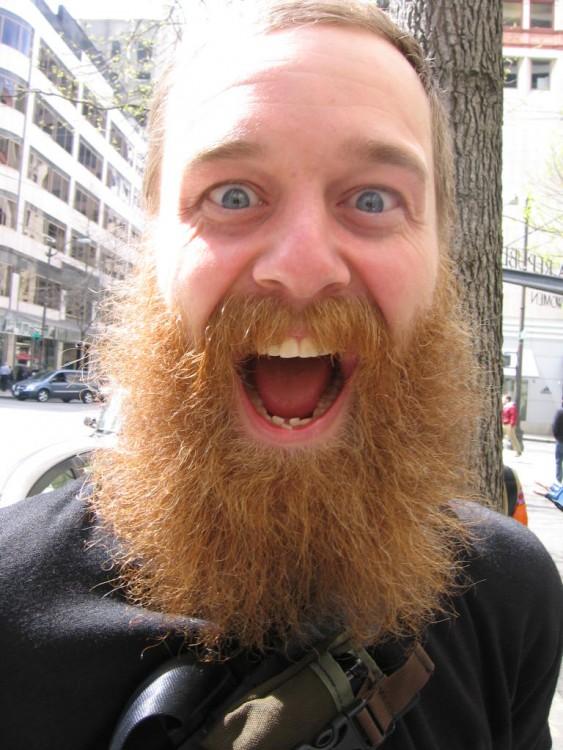 Hombres con barba, enfermedades