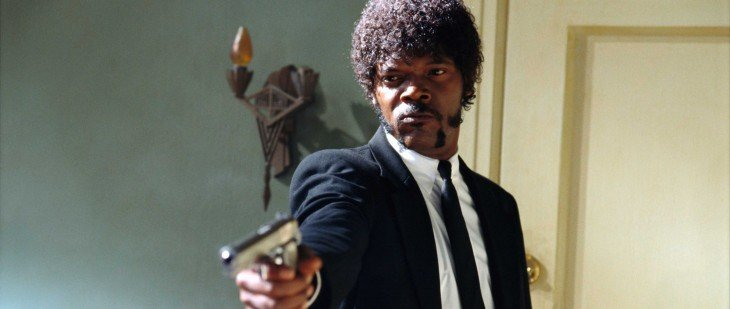 Jules Winnfield (Samuel L. Jackson), en Pulp Fiction