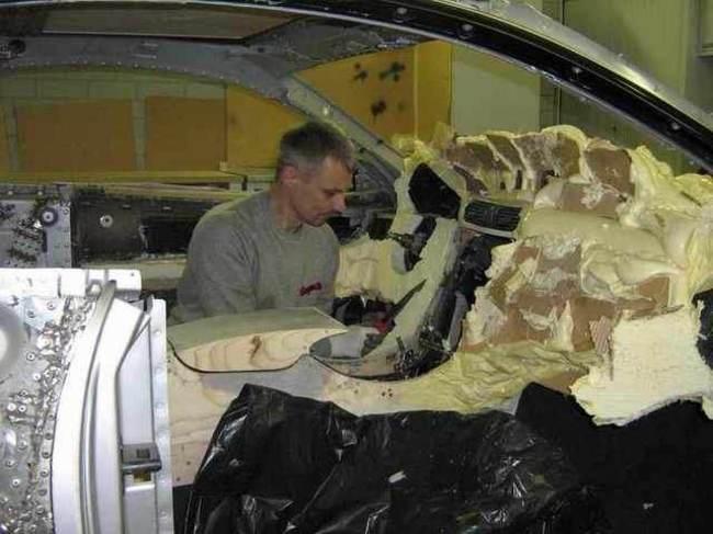 Carro de lujo con material expandible interior 4