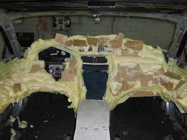 Carro de lujo con material expandible interior 2