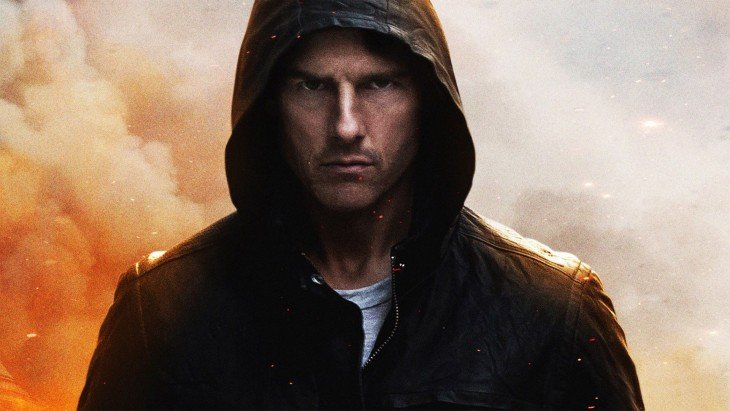 Ethan Hunt (Tom Cruise) en Mission Impossible