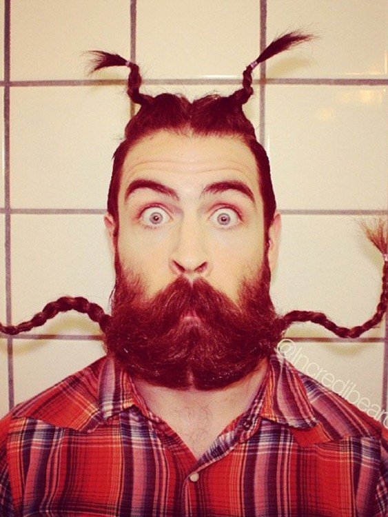 Incredibeard Trenzas