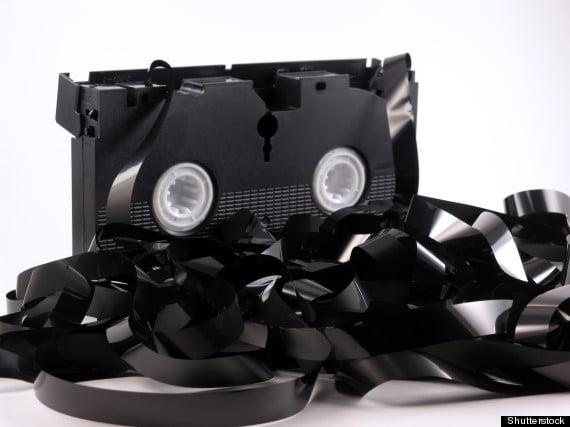 Rebobinar cinta VHS