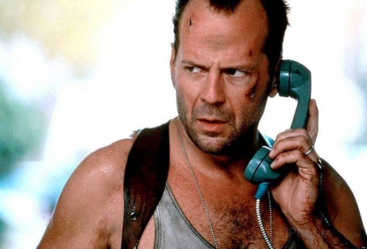 Bruce Willis), en Die Hard