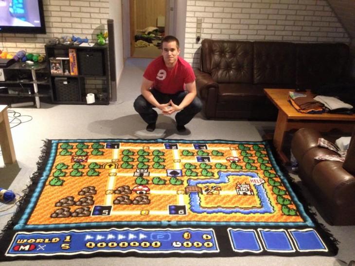 Manta de Mario Bros 3