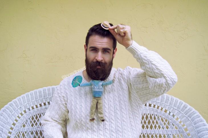 Incredibeard Ropa para barba