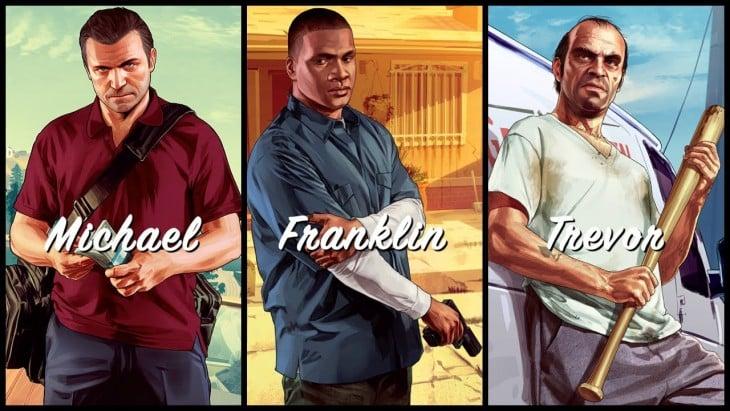 Michael. Franklin. Trevor