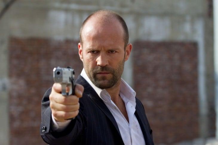 Frank Martin (Jason Statham), en Transporter