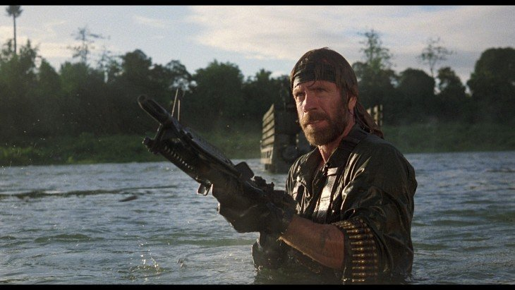 James Braddock (Chuck Norris), en Missing in Action