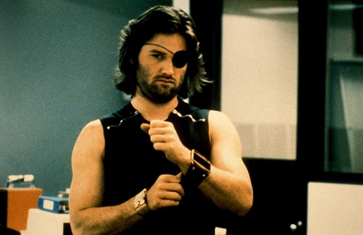 Snake Plissken (Kurt Russell), en Escape from