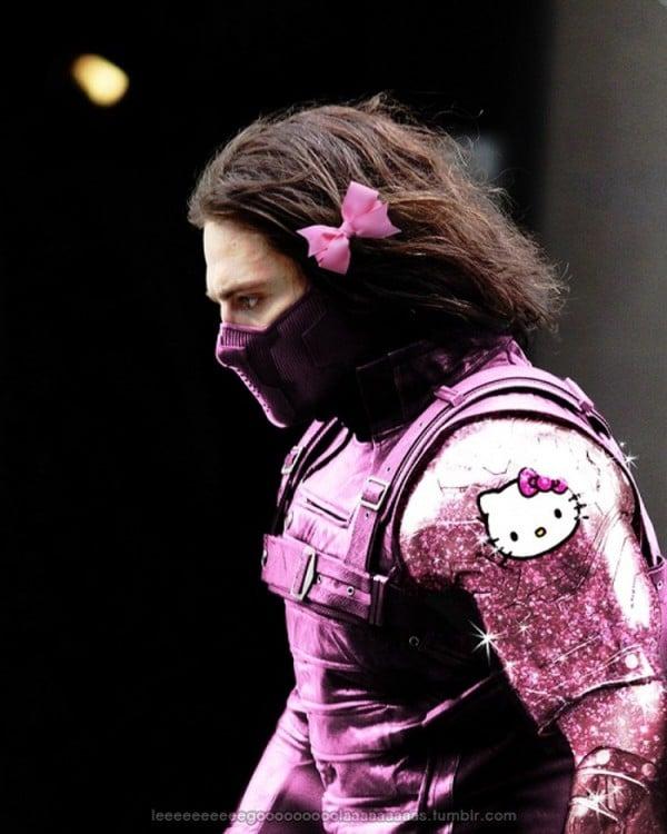 Winter Soldier de Hello Kitty