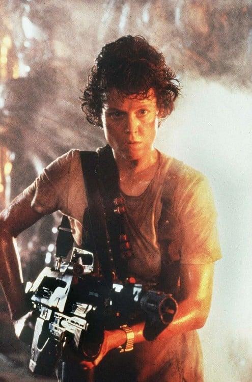 Sigourney Weaver), en Alien