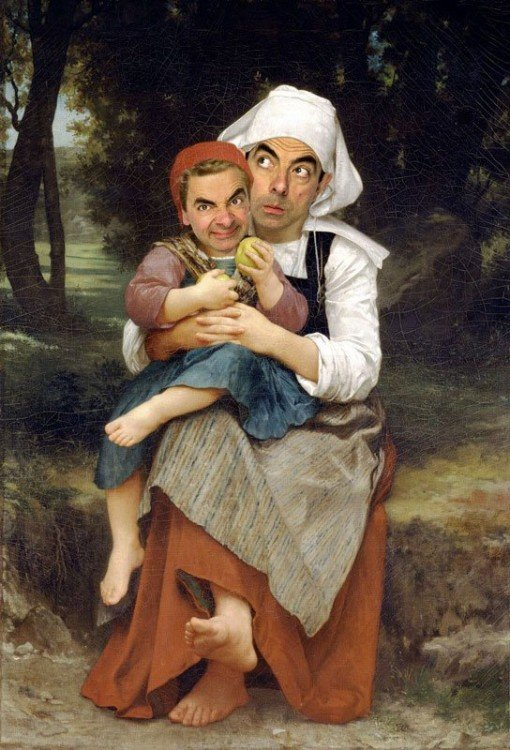rodney-pike-photoshop-mr-bean-into-famous-paintings-2
