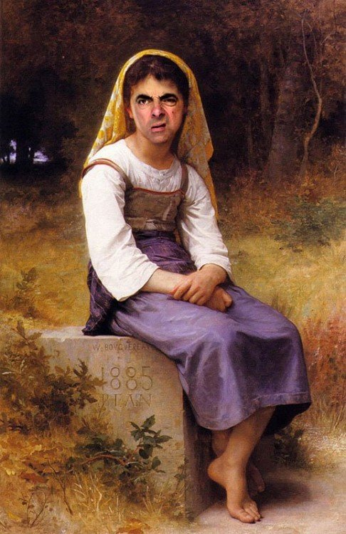 rodney-pike-photoshop-mr-bean-into-famous-paintings-7