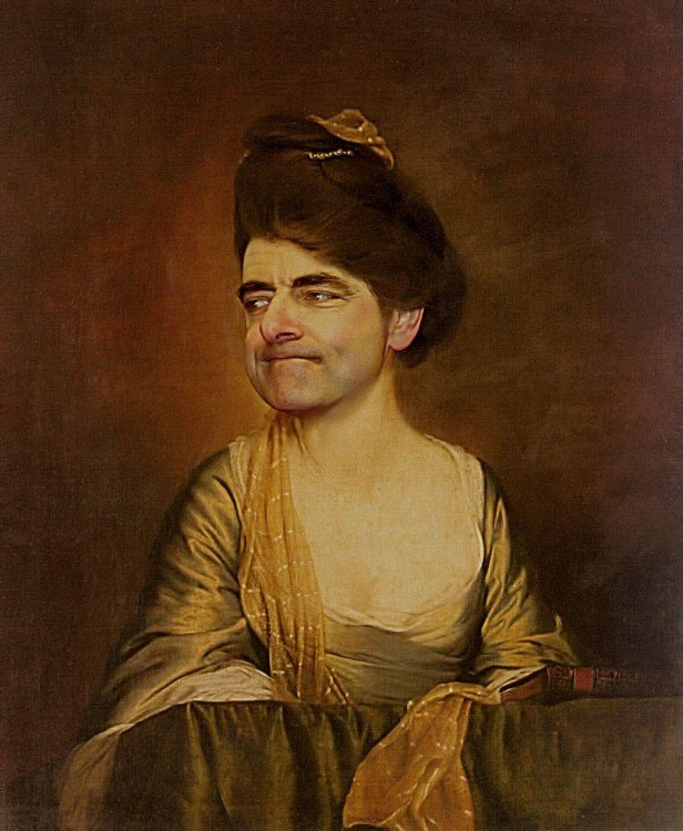 Pinturas de mr Bean de rodney pike