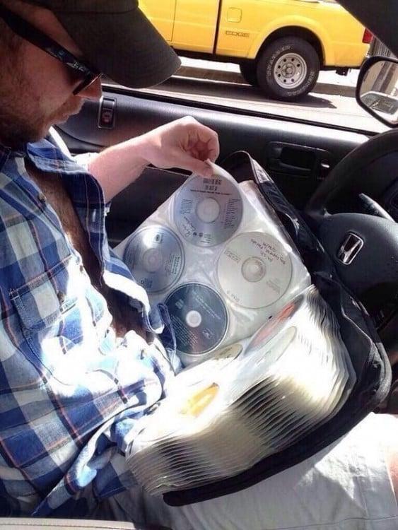 Buscando tu disco favorito del Porta cds