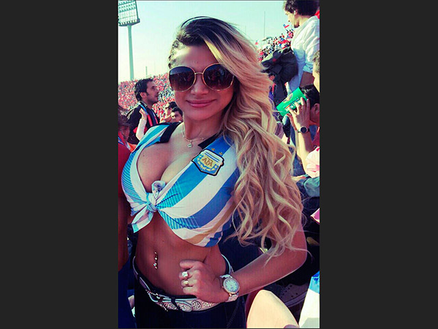 mayra ibañez copa america 2015 argentina chile