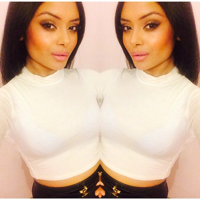 Afshan Azad harry potter white top