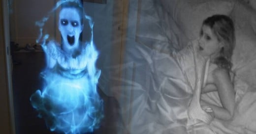 Le hace una broma muy pesada a su novia: Aparece fantasma de una niña en la madrugada