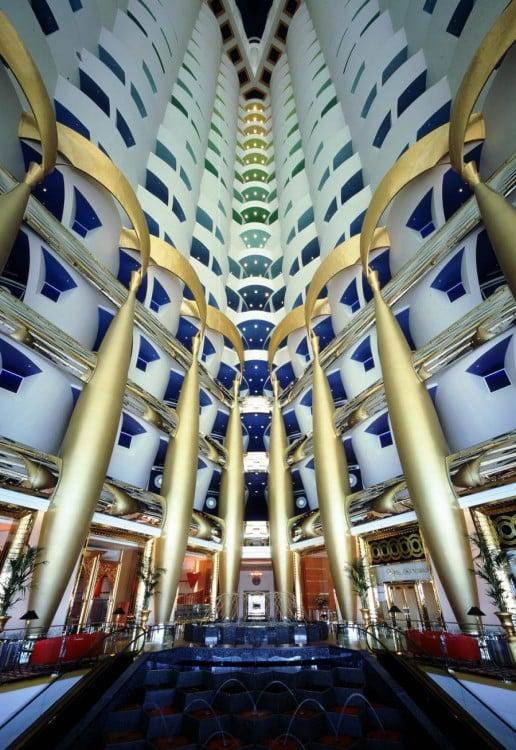 Burj Al Arab interiores