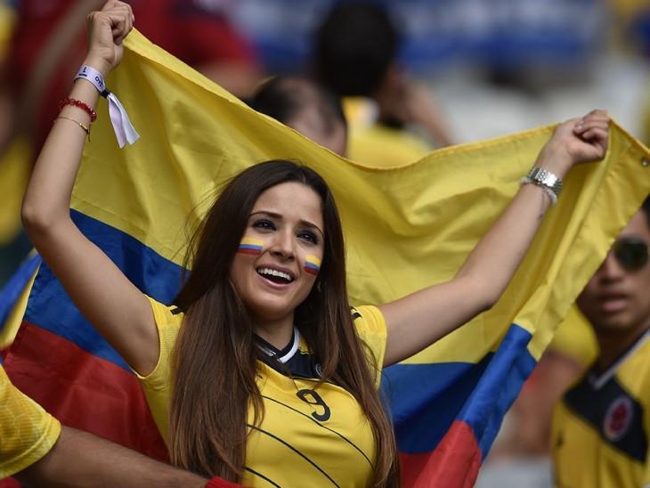 colombiana hermosa copa america 2015