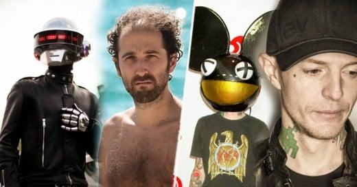 Así se ven estos 15 músicos sin máscaras ni maquillaje fuera de los escenarios