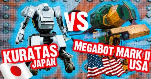 Pelea de robots gigantes: Japón acepta el duelo contra Estados Unidos