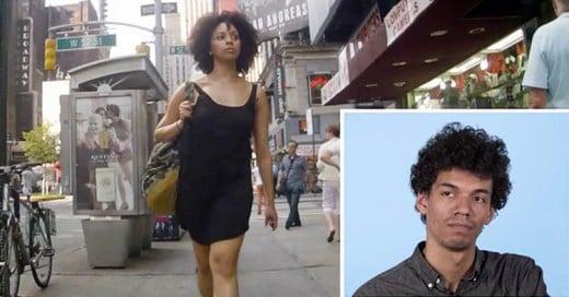 Varones reaccionan a video de sus novias siendo coqueteadas en la calle