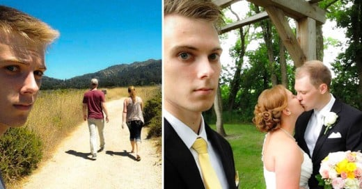 """Documentó su vida como """"mal tercio"""" en una serie de fotos incómodas"""