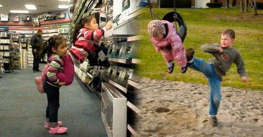 16 Fotos que solo los hermanos entenderán