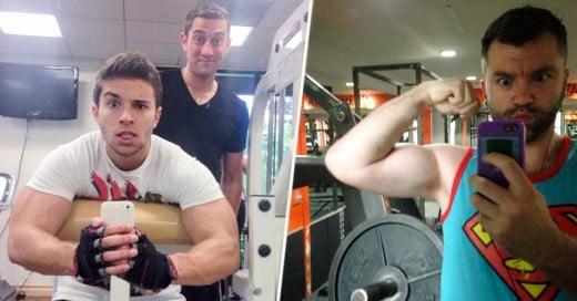 Un estudio asegura que quienes toman selfies del gym podrían tener problemas piscológicos