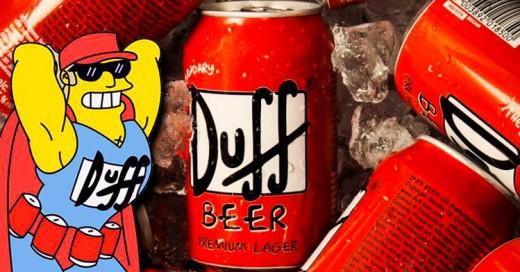 """""""Los Simpsons"""" sacarán a la venta la cerveza Duff oficial"""