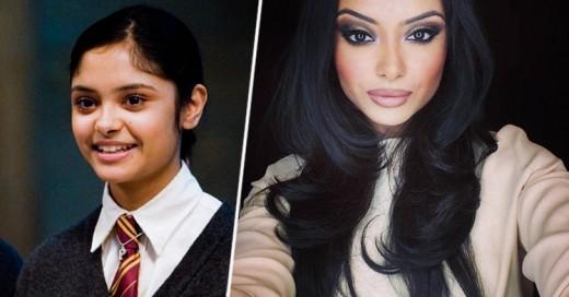 La transformación de la actriz Afshan Azad de Harry Potter