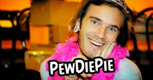 """Estrella de YouTube """"PewDiePie"""" ganó 7.5 millones de dólares el año pasado"""