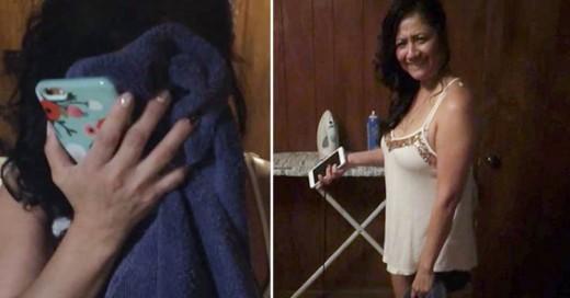 Varón graba video del regalo de cumpleaños a su novia infiel