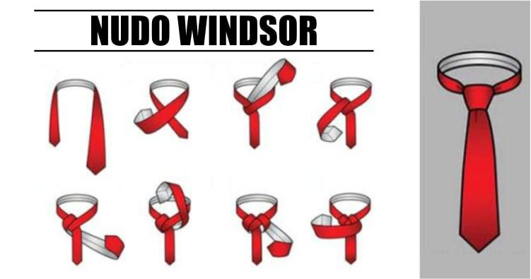 30 diferentes nudos de corbata para cualquier ocasi n for Nudo de corbata windsor