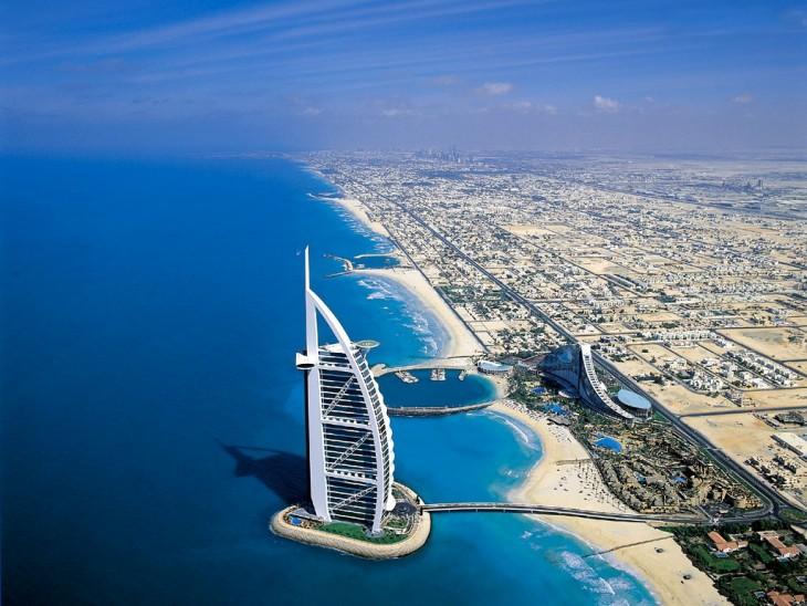 hotel Burj Al Arab mar