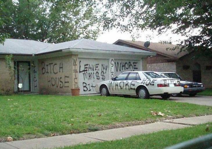 casa de mujer infiel