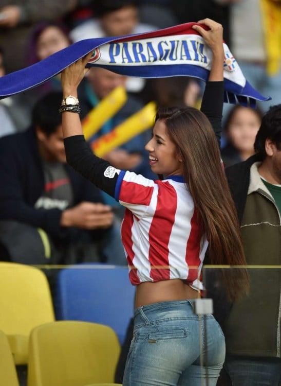 paraguaya hermosa copa america 2015