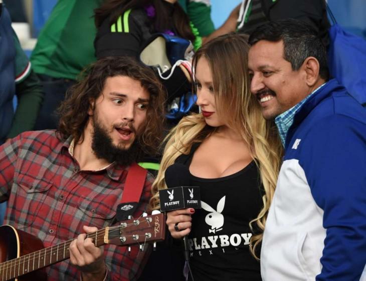 mexico ecuador copa america 2015 rubia playboy