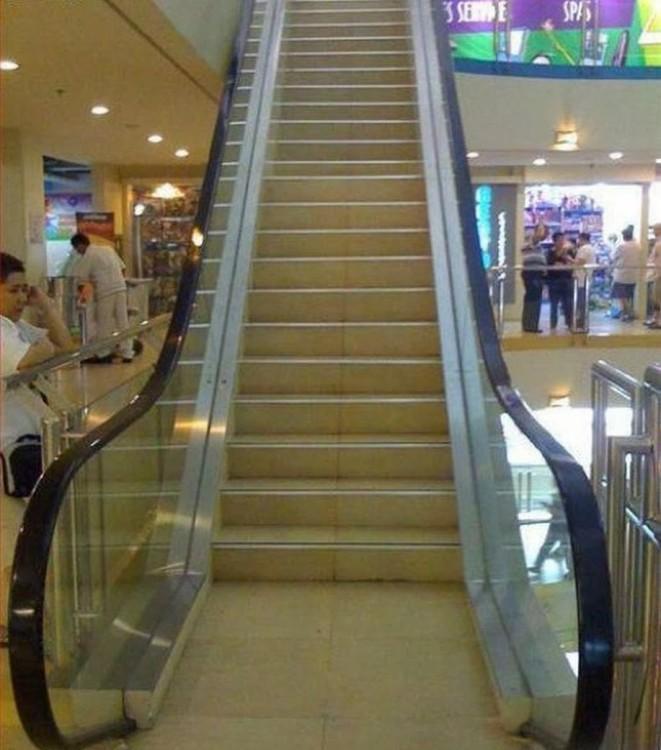 escaleras eléctricas fijas