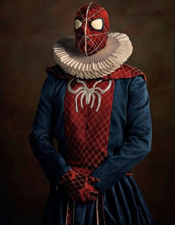 Spider-Man Siglo XVI