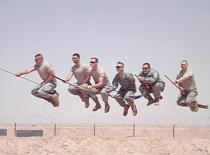 Así Se Divierten Los Soldados En Su Tiempo Libre