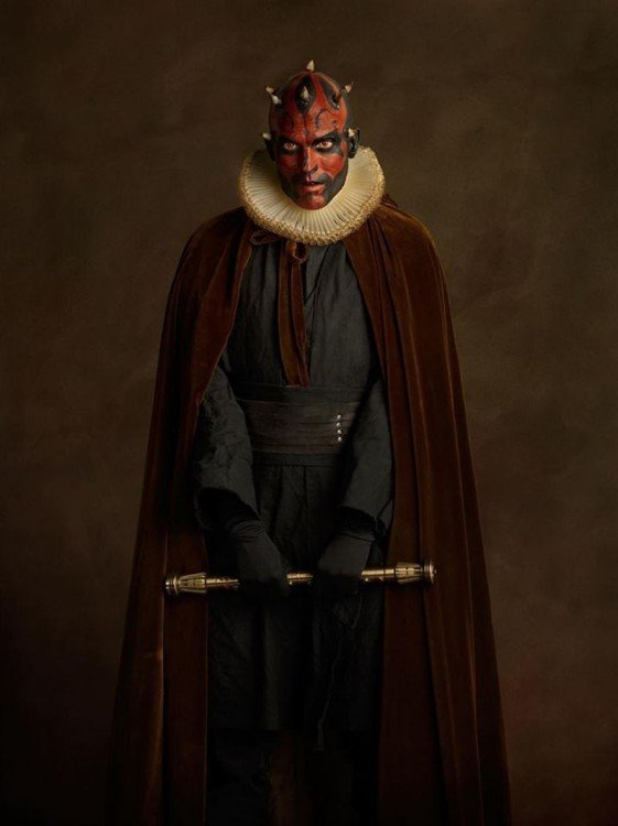Darth Maul Siglo XVI