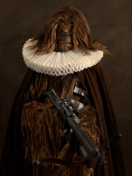 Chewbacca Siglo XVI