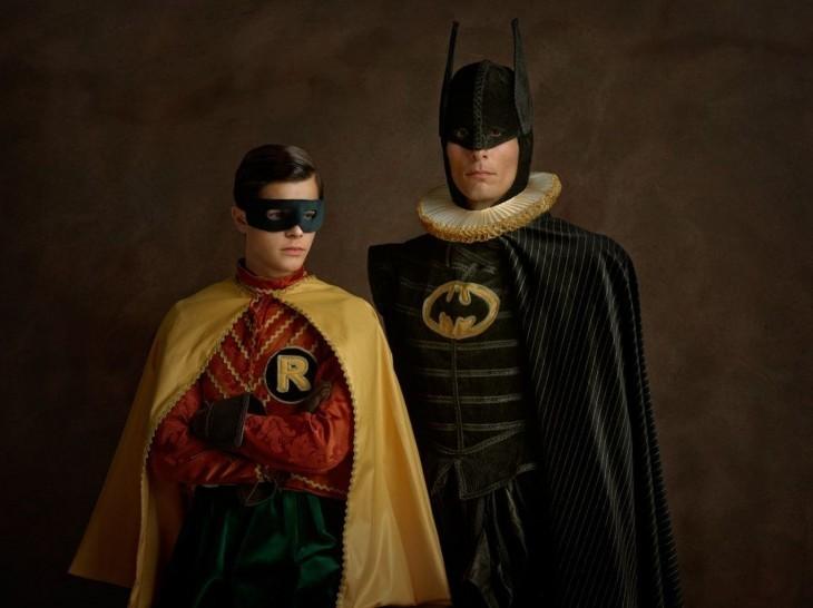 Batman y Robin Siglo XVI